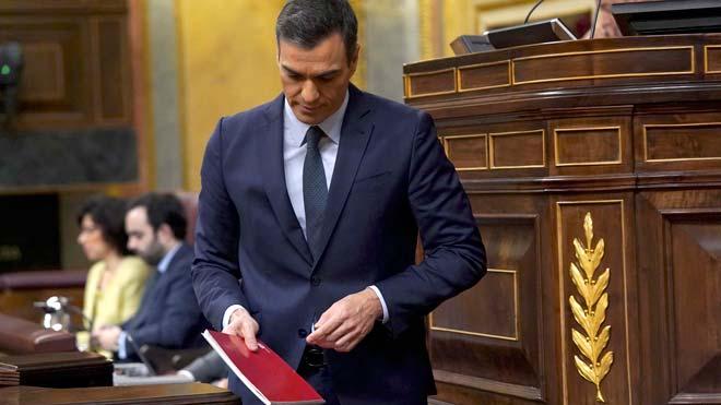 Pedro Sánchez no logra la mayoría para ser investido en primera votación.
