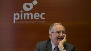 Pimec condemna els «actes vandàlics» de «grups reduïts de manifestants»