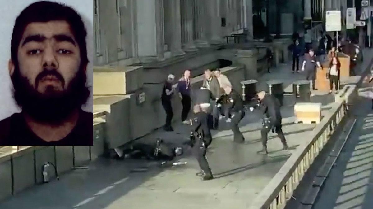 """La policía mata a un hombre tras un """"ataque terrorista"""" en el Puente de Londres"""