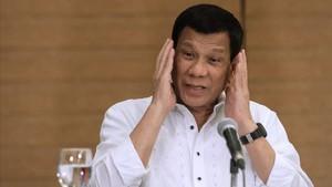 El presidente de Filipinas Rodrigo Duterte.