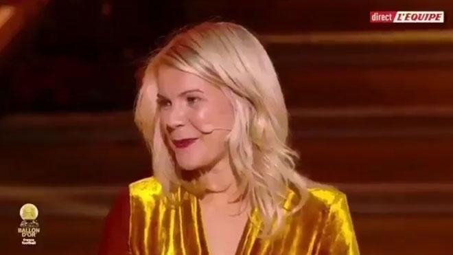 La reacción de Ada Martine Stolsmo, jugadora de fútbol y ganadora del Balón de Oro, cuando le preguntan si sabe hacer twerking.