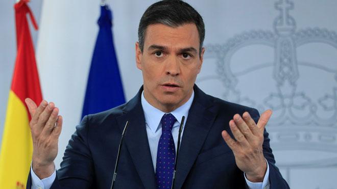 Sánchez anuncia que Espanya obrirà les seves fronteres amb l'espai Schengen el dia 21