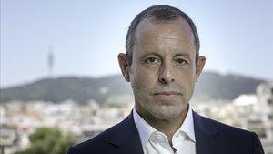 Sandro Rosell, expresidente azulgrana.