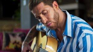 Sergio Ramos muestra su pasión por la música en el documental 'El corazón de Sergio Ramos', Amazon Prime Video.
