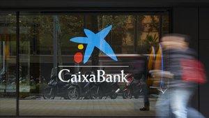 Sucursal de Caixabank en Catalunya.