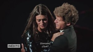 Susana y Gonzalo en su hoguera final de 'La isla de las tentaciones'.