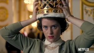 La actrizClaire Foy, en la serie 'The Crown'.