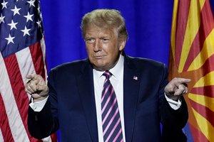 La visita de Trump a Arizona forma parte de una gira del mandatario por varios estados del oeste.