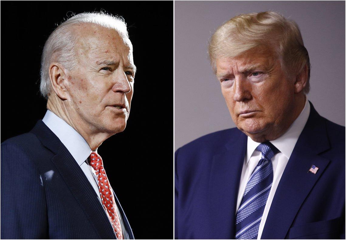 Trump compara a Joe Biden con Chávez, Castro y Maduro