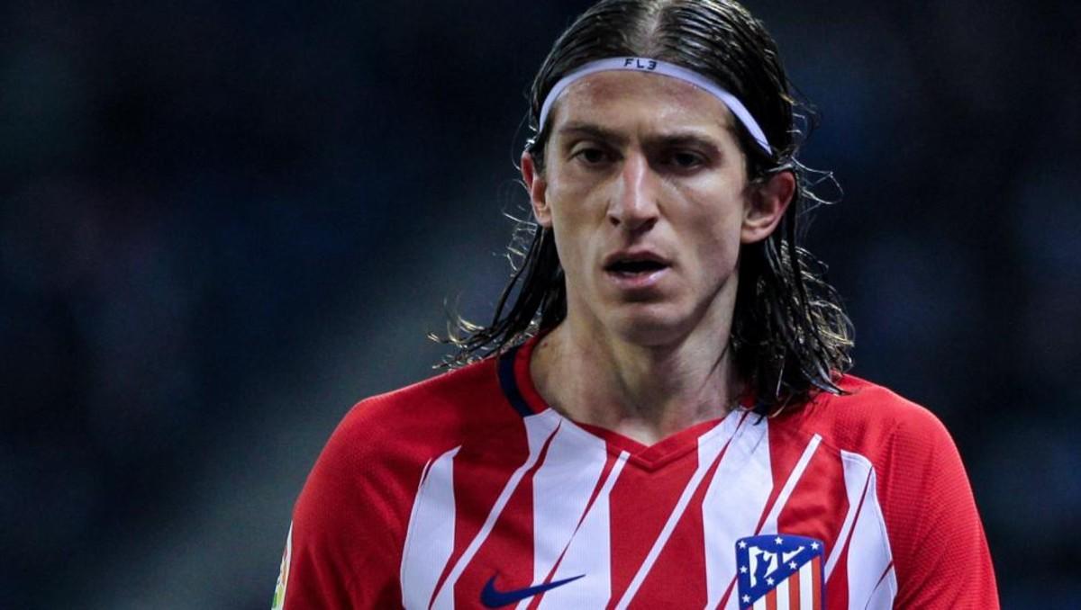 Filipe Luis, molesto con el Atlético de Madrid