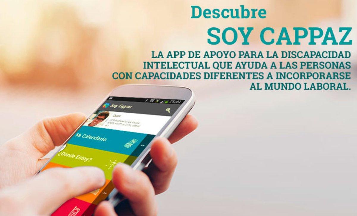 Una imagen de la interfaz de la aplicación.