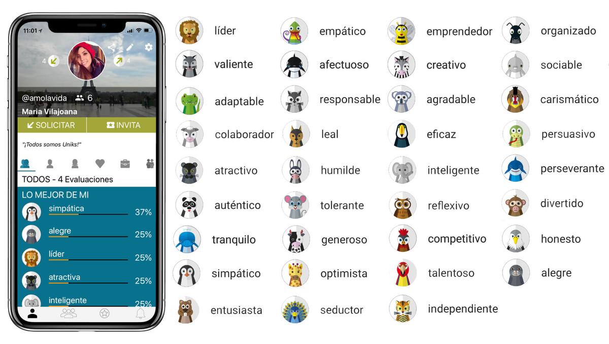 Uniks nueva app y red social