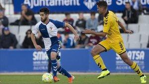 Uno de los últimos enfrentamientos entre el Sabadell y el Badalona.