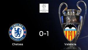El Valencia gana 0-1 en el feudo del Chelsea