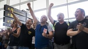 Els treballadors d'Eulen tornaran a la vaga el 8 de setembre
