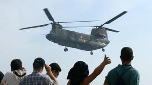 La prioritat són els helicòpters militars