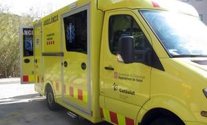 Mor un motorista en un xoc amb un turisme a Cervelló