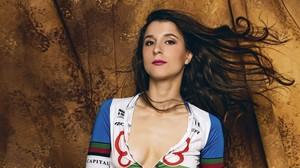 Joana Monteiro, campiona de Portugal de ciclisme de muntanya posa per a 'Interviú'