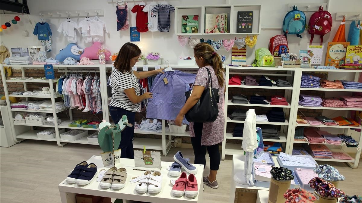 La tienda infantil Petit Pijama, en Rosselló, 38.