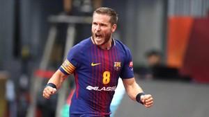 El Barça d'handbol inicia el camí cap a la desena davant el campió alemany