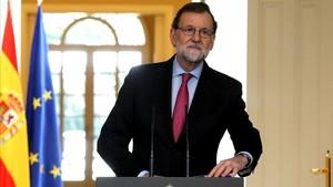 """Rajoy descarta el finançament irregular i cenyeix la corrupció a """"set, 10 o 15 persones"""""""