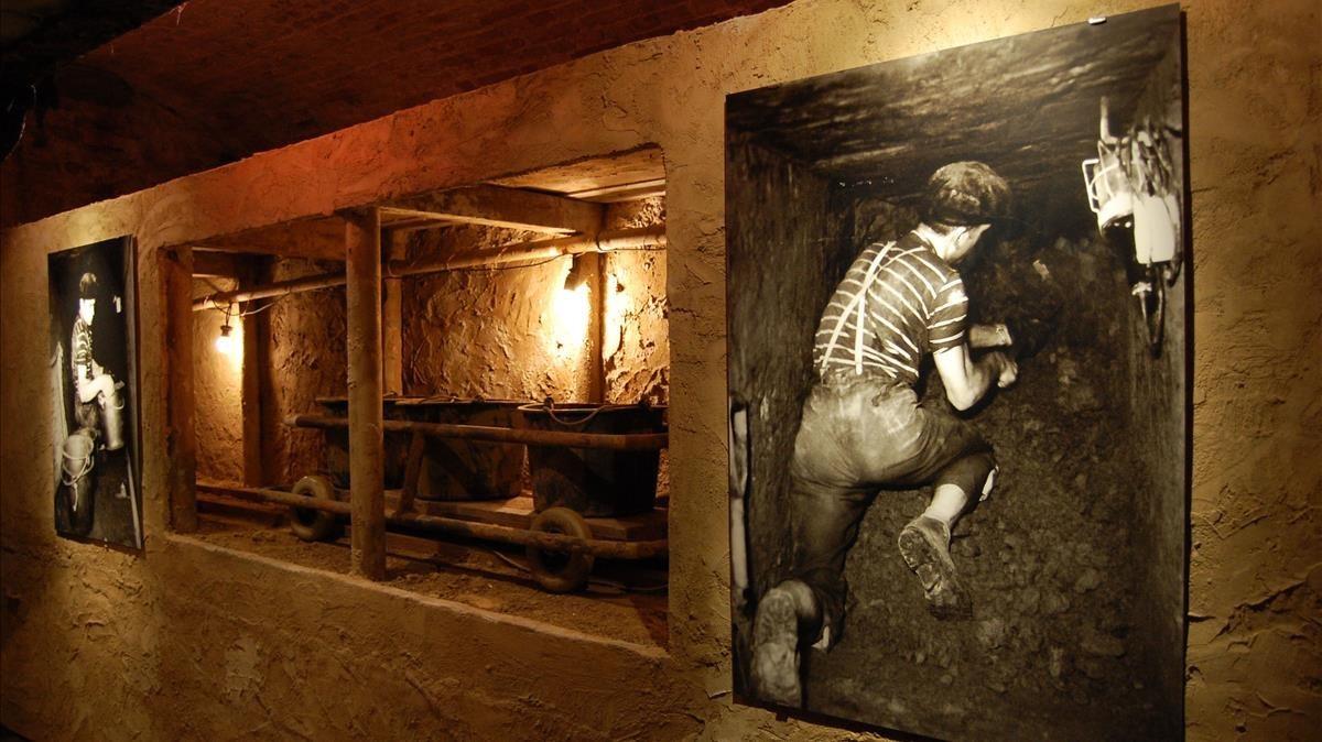 Peter Ortelt y sus compañeros utilizaron lo que tenían a mano para escarbar hasta 145 metros de túnel subterráneo - ©Berliner Unterwelten e.V./Holger Happel