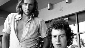 Bjorg y McEnroe, en 1981.