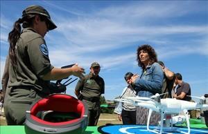 Catalunya utilitzarà drons contra els incendis forestals