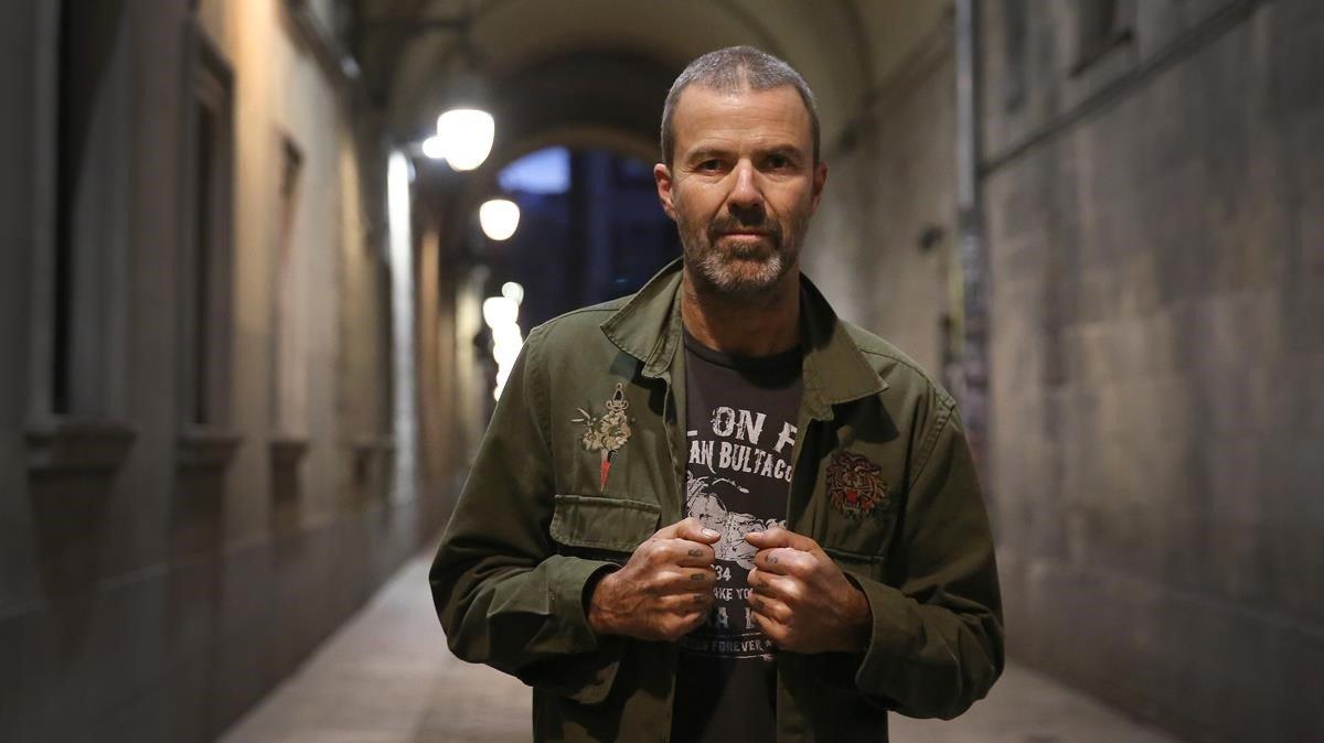 Pau Donés, en Barcelona, el día antes del primero de sus dos conciertos en Luz de Gas.