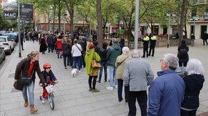La participació a Catalunya bat rècords en unes eleccions generals: 64,20%