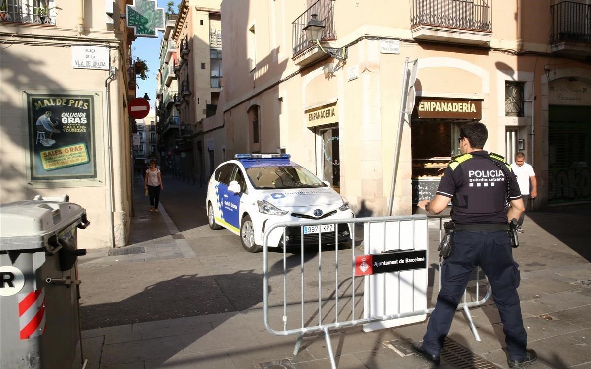 El dispositiu de màxima seguretat torna a les festes de Gràcia