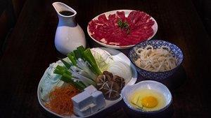 El 'sukiyaki' del restaurante Tokyo Sushi, el más antiguo de Barcelona.