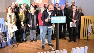 Òmnium presenta un manifest per l'amnistia dels «represaliats» del procés