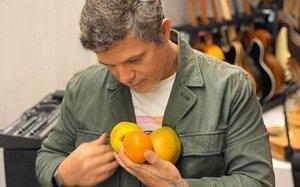 El cantante y compositor Alejandro Sanz