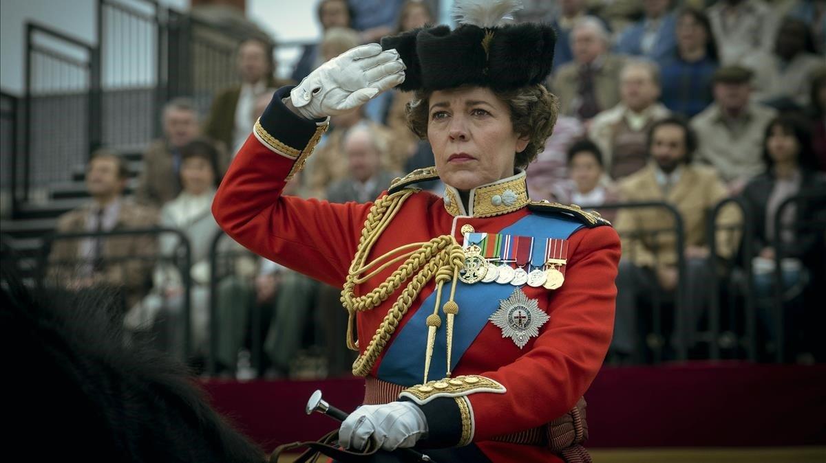 Una imagen de la temporada cuatro de 'The Crown'.