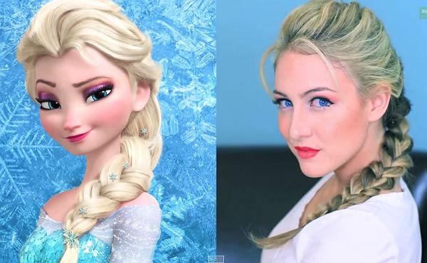 Furor Por La Trenza De Elsa De Frozen En Nochevieja