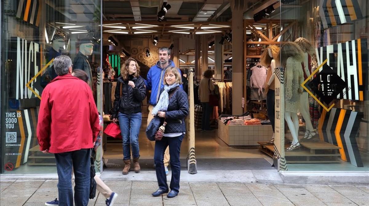 Fracasa el segundo domingo del año de tiendas abiertas en Barcelona