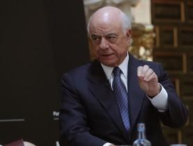 El presidente del BBVA, Francisco González, en una jornada sobre el futuro de España organizada por la revista Forbes, el pasado octubre.