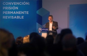 El ministro de Justicia, Rafael Catalá, en Córdoba.
