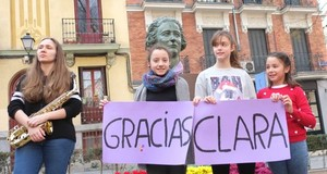 Homenaje en Madrid a Clara Campoamor
