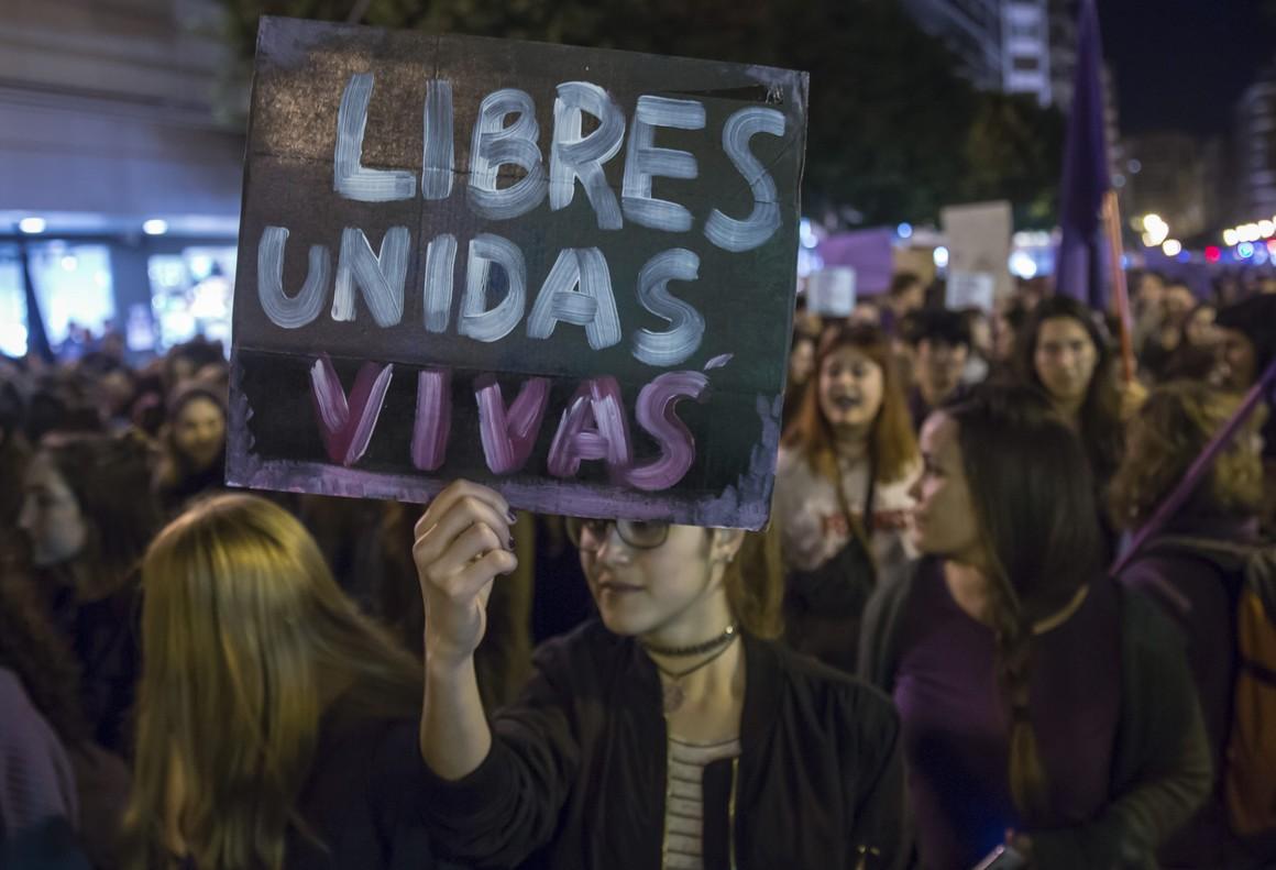 Manifestación 8-M en 2017
