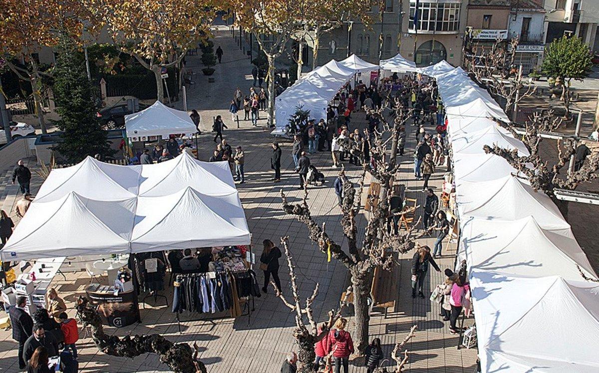 Feria de Navidad de Parets del Vallès.