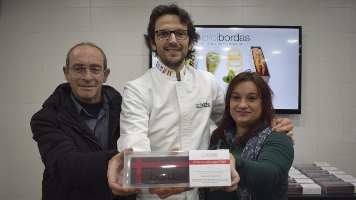 Jordi Bordas crea un torrósolidari per recaptar fons per alPunt Solidari de Viladecans.
