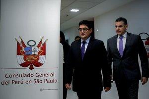 Los fiscales del equipo especial de la Lava Jato en Perú, Rafael Vela y José Domingo Pérez, firmaron un acuerdo de colaboración con la constructora brasileña Odebrecht.