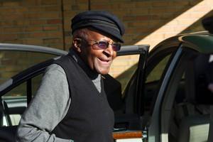 Desmond Tutu, el pasado agosto.