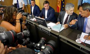 Fernando Grande-Marlaske, en la Comisión de Interior.
