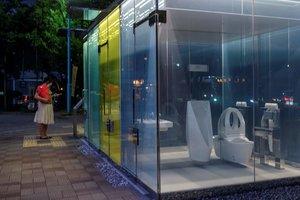 L'última atracció de Tòquio: lavabos públics transparents