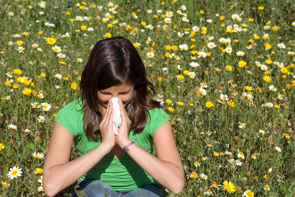 Alergias: el calor eleva los niveles en nueve ciudades