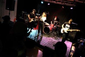 Actuación del 'Festival de Música de Prop' de Cornellà.