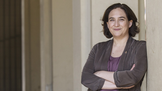 """Ada Colau: """"Hay que evitar hablar de 'turismofobia'"""""""
